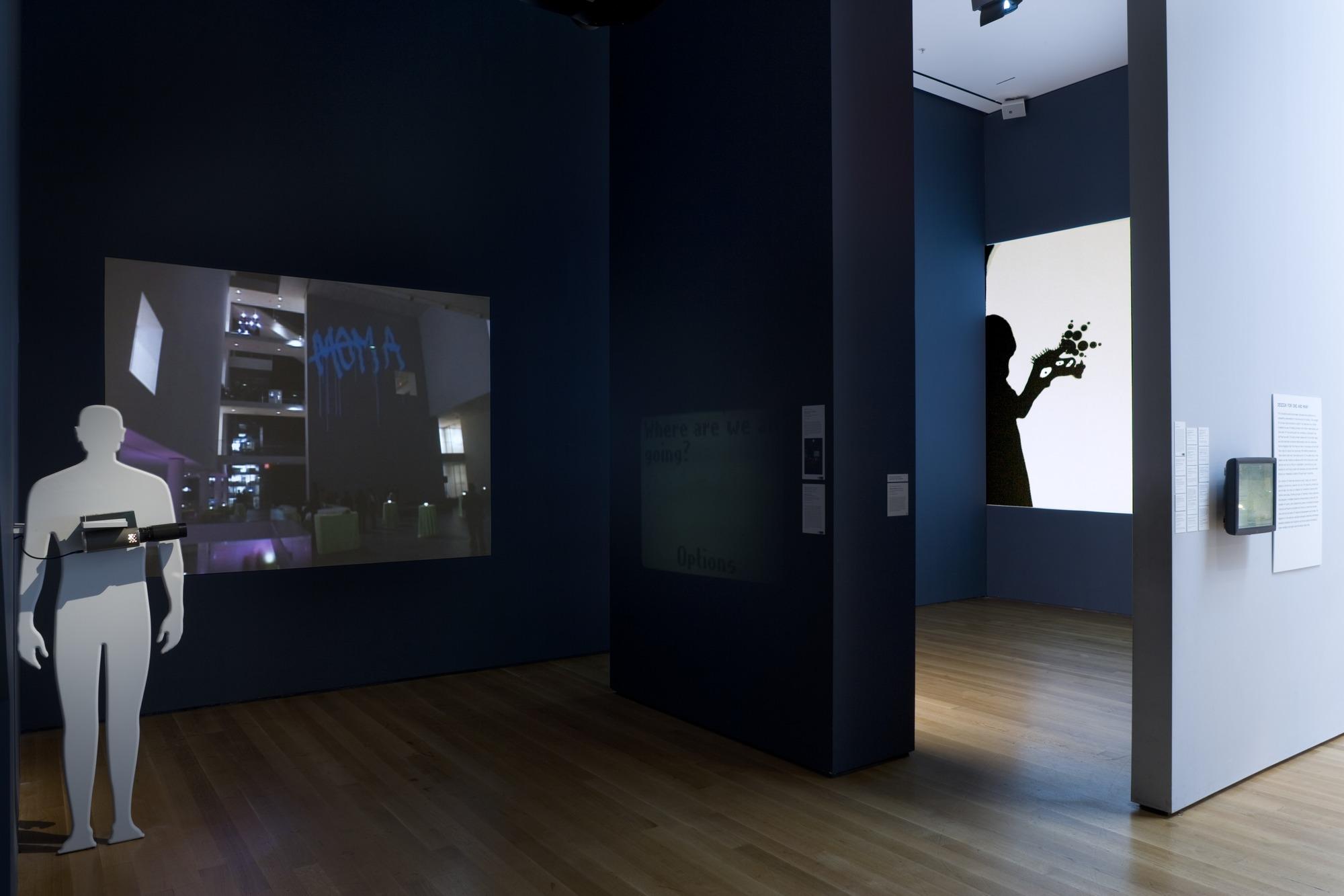 'Design and the Elastic Mind', Installation View, 2008 | Troika (Conny Freyer, Eva Rucki, Sebastien Noel)
