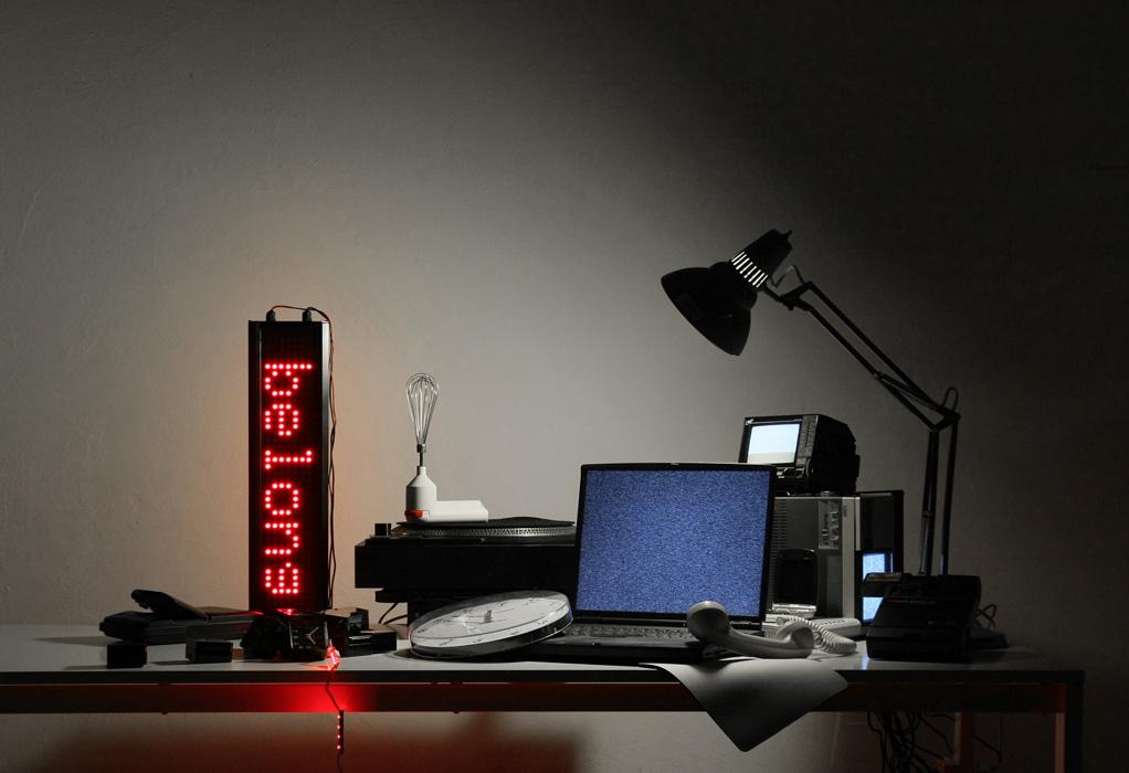 'Electroprobe Installation', 2010 | Troika (Eva Rucki, Sebastien Noel, Conny Freyer)