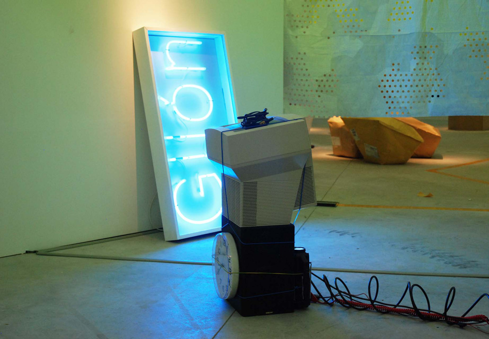 'Electroprobe Installation', 2008 | Troika (Eva Rucki, Sebastien Noel, Conny Freyer)