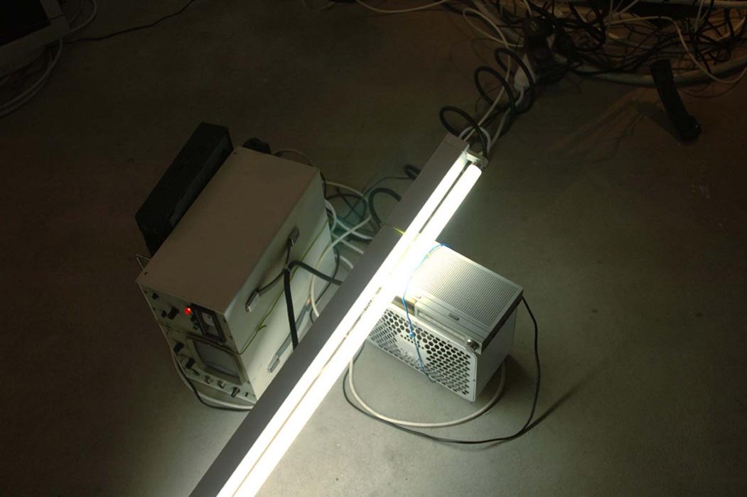 'Electrophobe Installation', 2005 | Troika (Eva Rucki, Sebastien Noel, Conny Freyer)