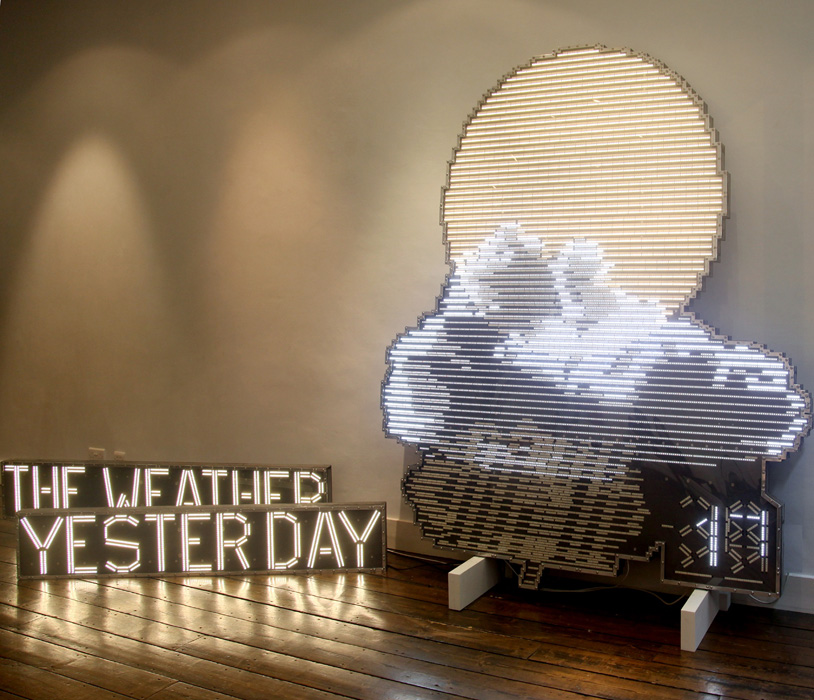 'The Weather Yesterday', 2013 | Troika (Eva Rucki, Sebastien Noel, Conny Freyer)
