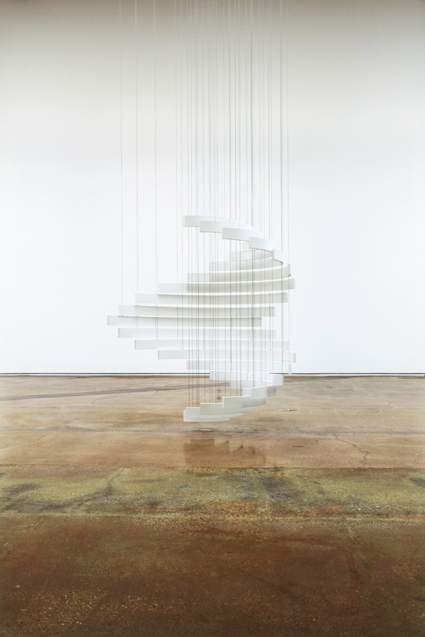 'The Sum of All Possibilities' (White), 2014 | Troika (Eva Rucki, Sebastien Noel, Conny Freyer)