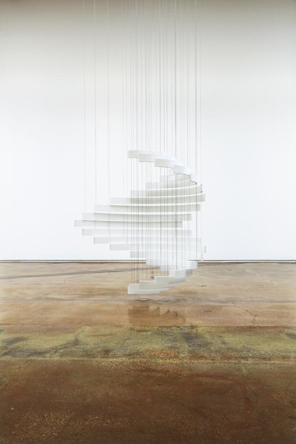 'The Sum of All Possibilities' (White), 2014   Troika (Eva Rucki, Sebastien Noel, Conny Freyer)