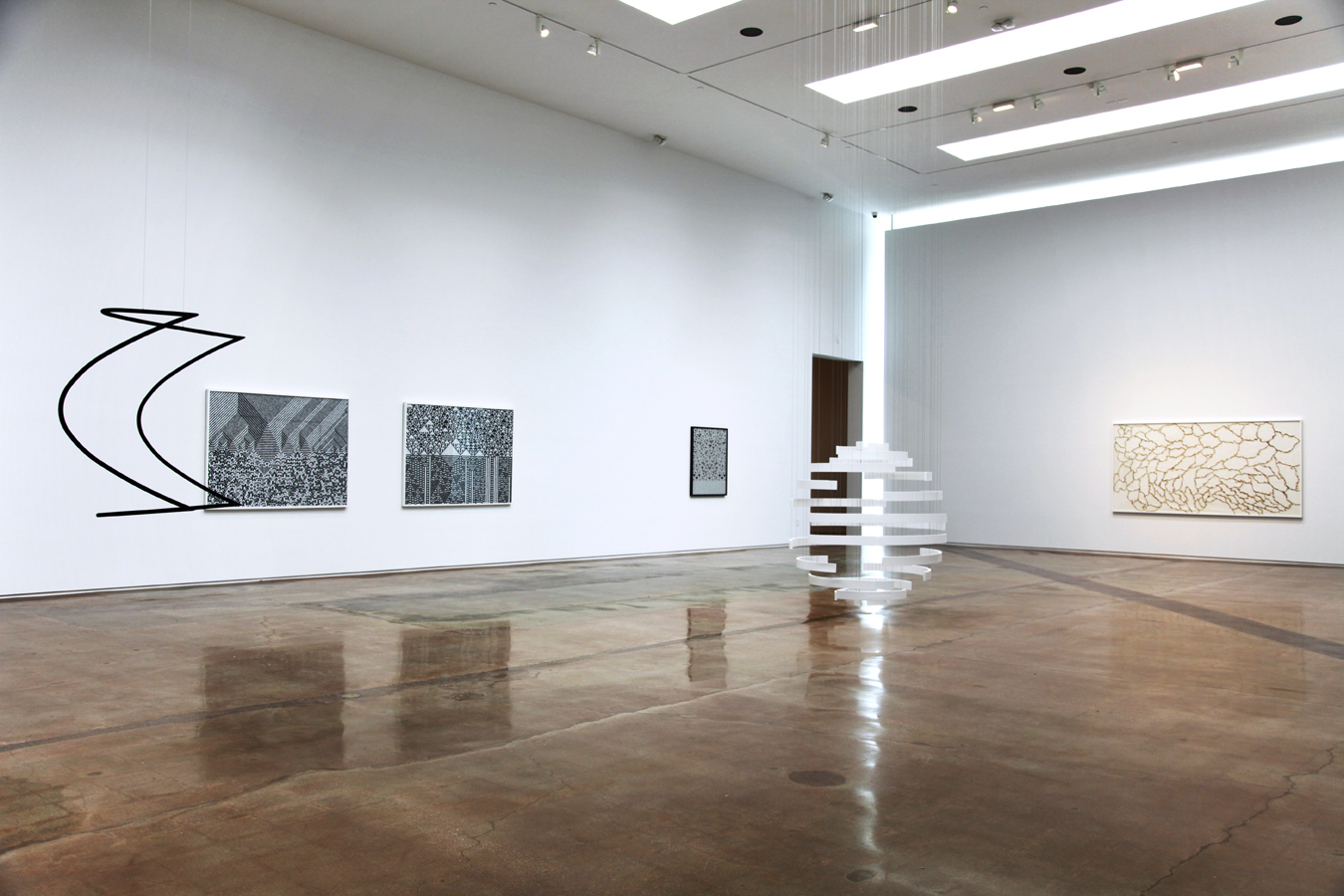 'Cartography of Control', Installation View, Kohn Gallery, 2015 | Troika (Conny Freyer, Eva Rucki, Sebastien Noel)
