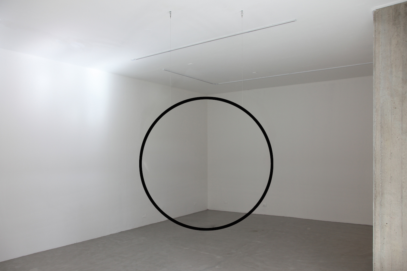 'Squaring the Circle', 2013, Installation View 'Limits of a Known Territory', 2015 | Troika (Eva Rucki, Sebastien Noel, Conny Freyer)