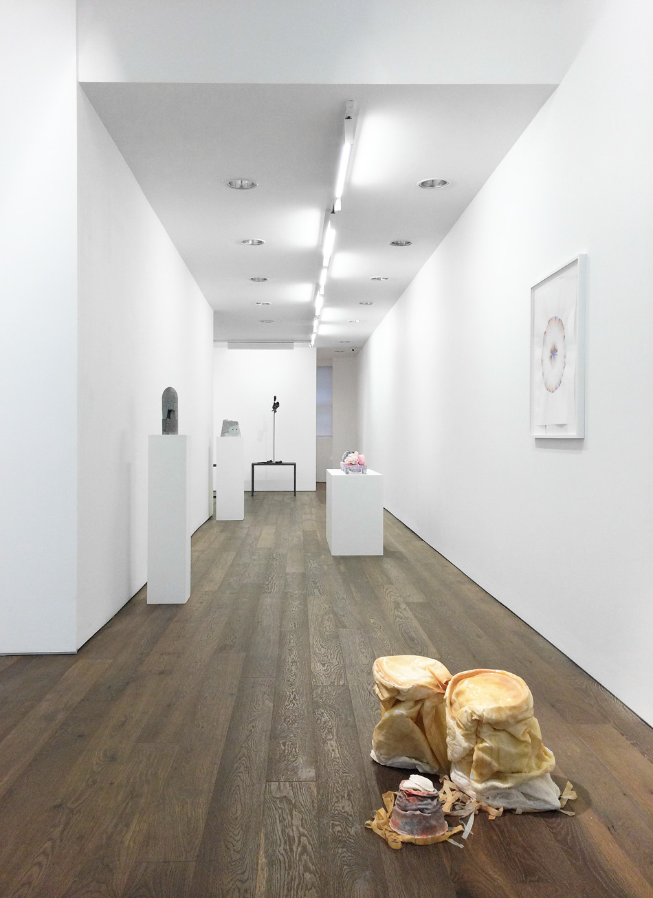 Installation shot at 'Finding Form', Art First, London 2015