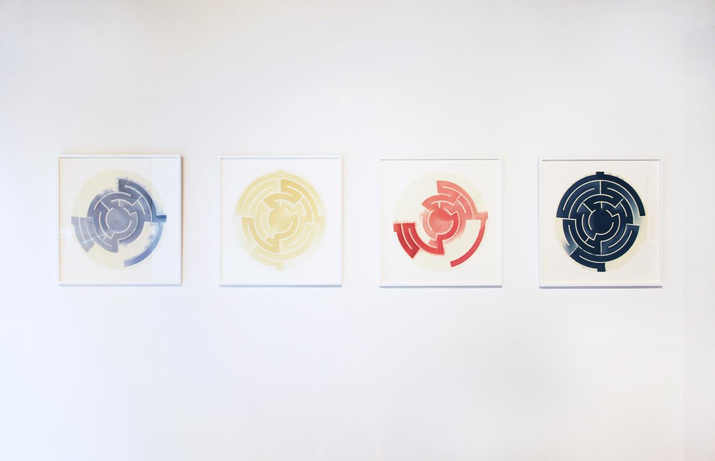 'Alternate Past', 2015 Troika (Sebastien Noel, Eva Rucki, Conny Freyer) | Installation view at Galerie Huit, Hong Kong, 2016
