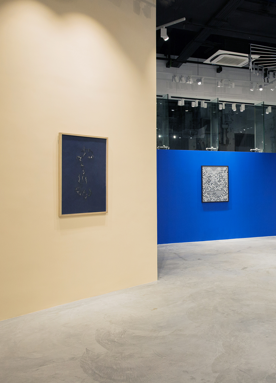 'Everything is and isn't at the Same Time' at Galerie Huit, Hong Kong, 2016, Troika (Sebastien Noel, Eva Rucki, Conny Freyer)