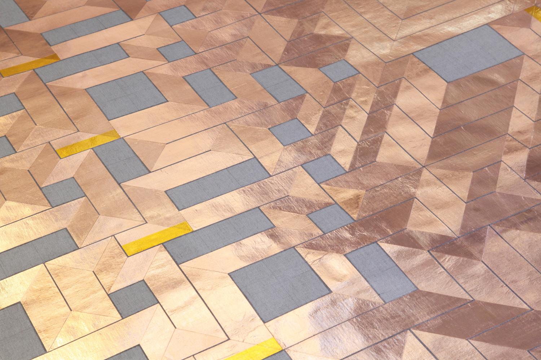 'A Labyrinth of a straight line', 2017 (Detail) | Troika (Conny Freyer, Eva Rucki, Sebastien Noel)
