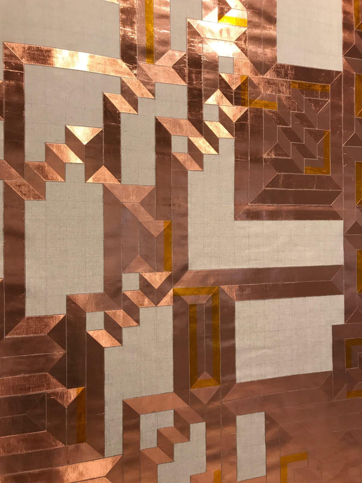 'A Labyrinth of a straight line', (Detail) 2017   Troika (Conny Freyer, Eva Rucki, Sebastien Noel)