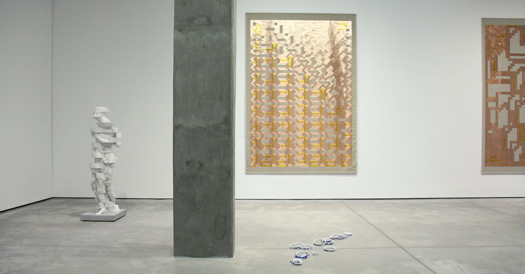 'Compression Loss', Installation View, OMR, 2017   Troika (Conny Freyer, Eva Rucki, Sebastien Noel)