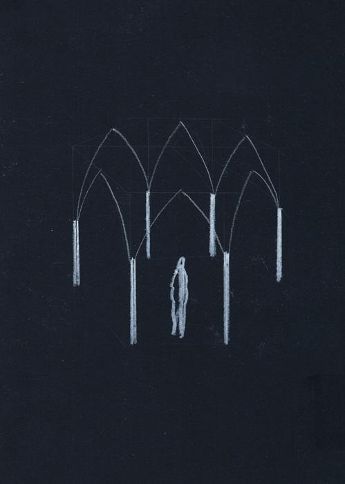 'Arcades' Sketch, 2012 | Troika (Eva Rucki, Sebastien Noel, Conny Freyer)