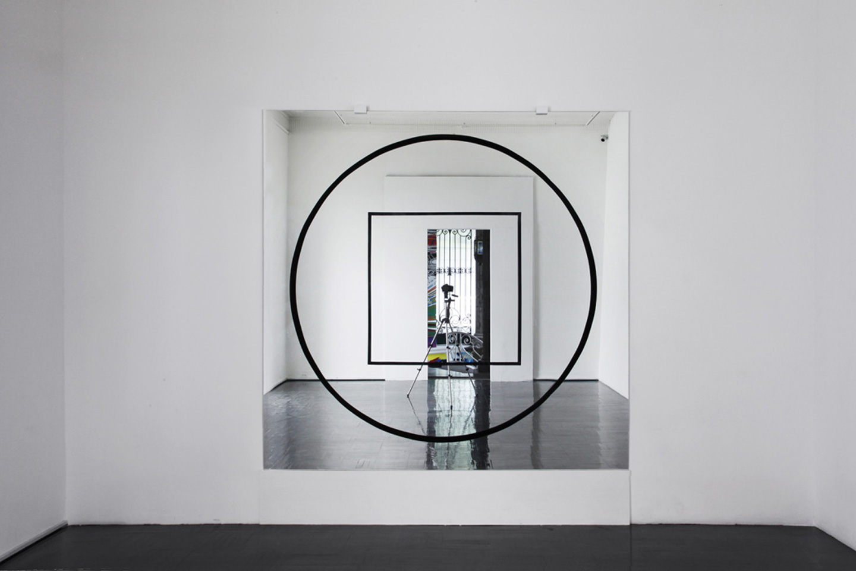 'Squaring The Circle', 2012 | Troika (Eva Rucki, Sebastien Noel, Conny Freyer)