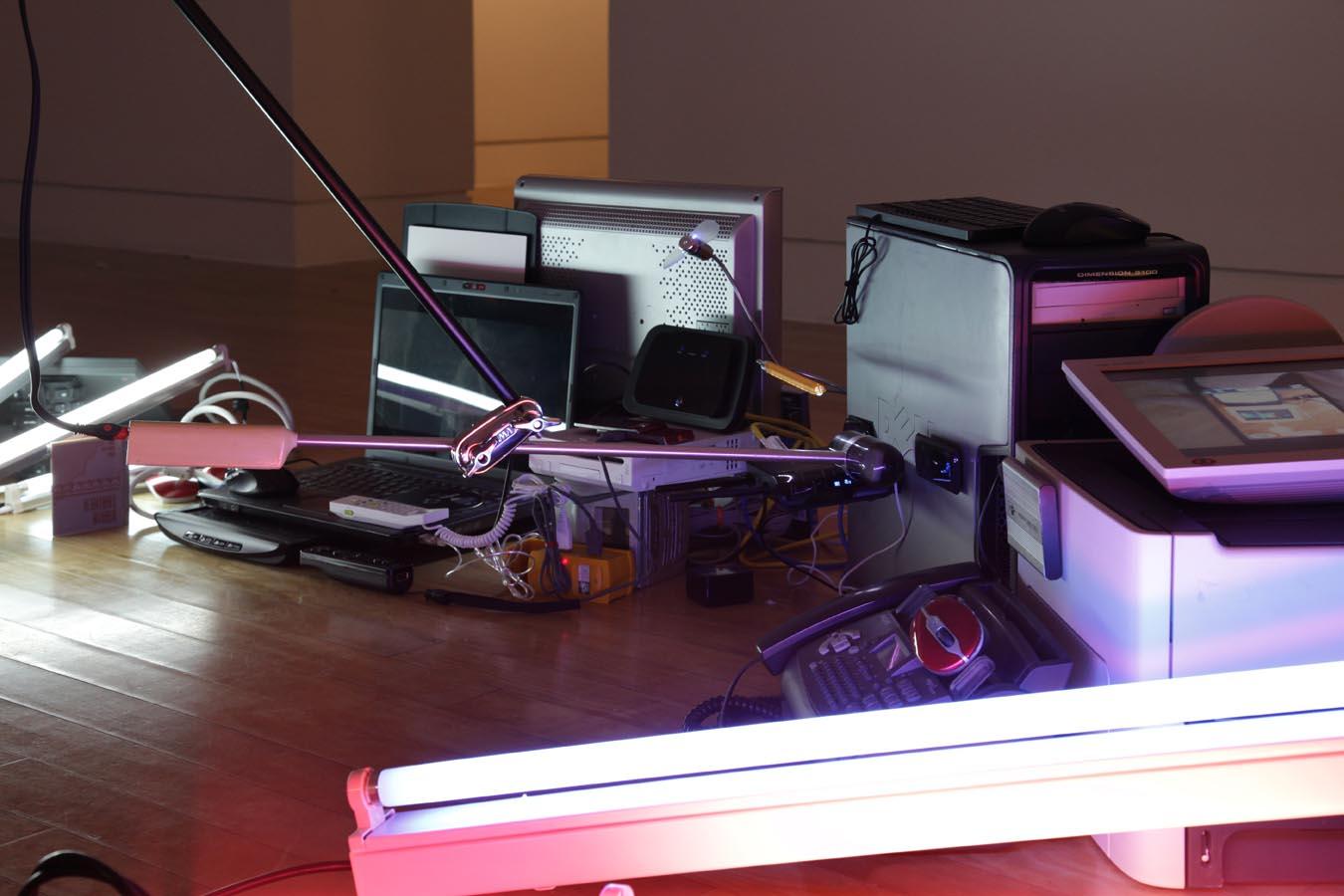 'Electroprobe Installation #5', 2014 | Troika (Eva Rucki, Sebastien Noel, Conny Freyer)