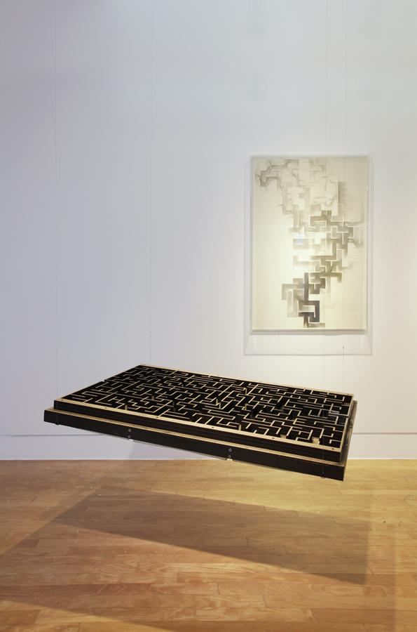 'Labyrinth', 2014   Troika (Eva Rucki, Sebastien Noel, Conny Freyer)