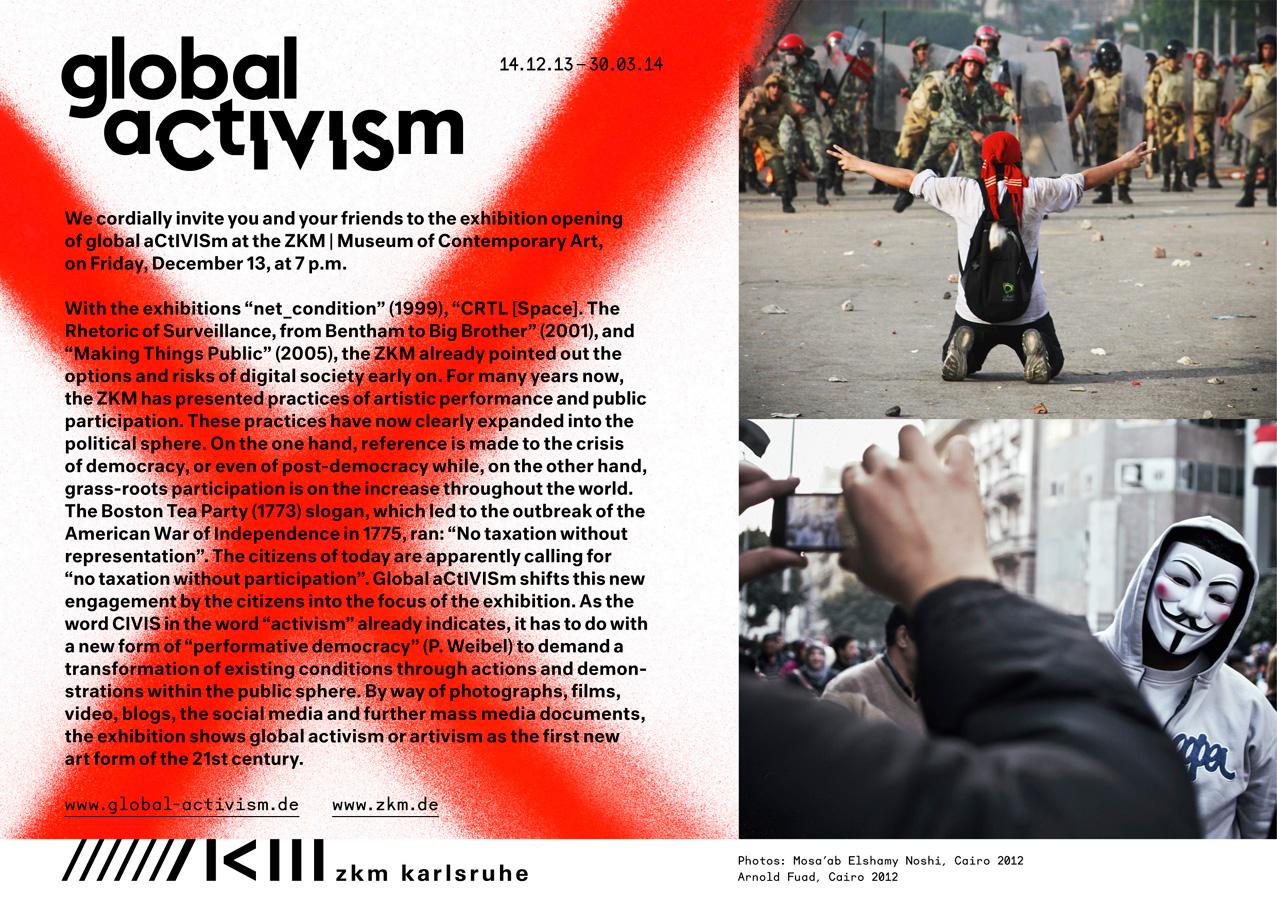 '»global aCtIVISm«', 2014 | Troika (Conny Freyer, Eva Rucki, Sebastien Noel)