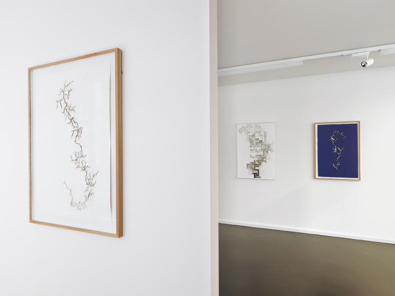 'Reverse Order', Installation View, Anne-Mosseri Marlio Galerie, 2015 | Troika (Conny Freyer, Eva Rucki, Sebastien Noel)