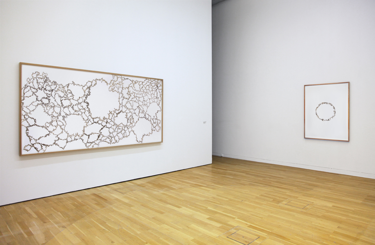 'Cartography of Control', 2014 (Left), 'Path of Most Resistance', 2013 (Right) | Troika (Eva Rucki, Sebastien Noel, Conny Freyer)