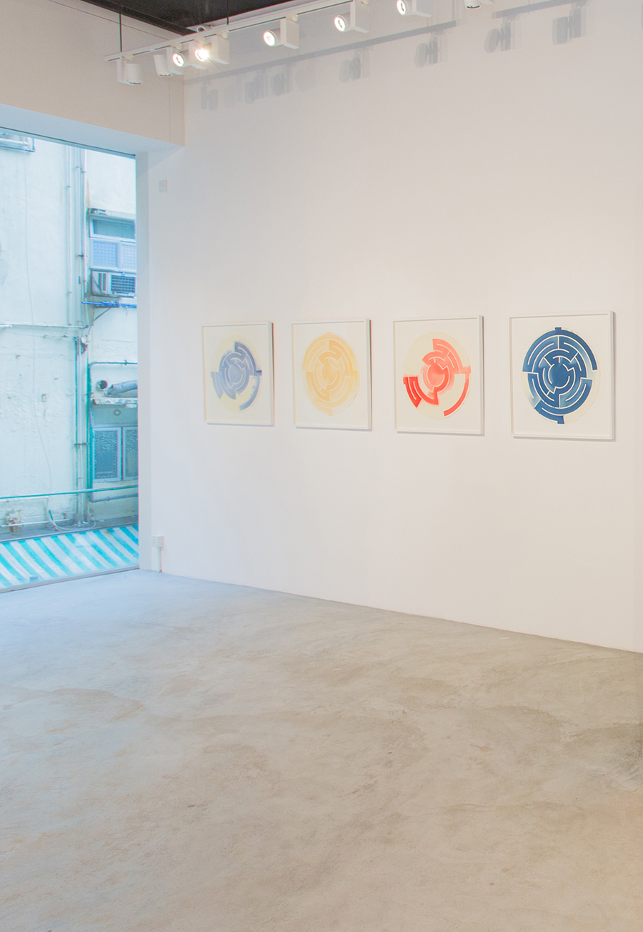 'Everything is and isn't at the Same Time', Installation View at Galerie Huit, Hong Kong, 2016   Troika (Sebastien Noel, Eva Rucki, Conny Freyer)
