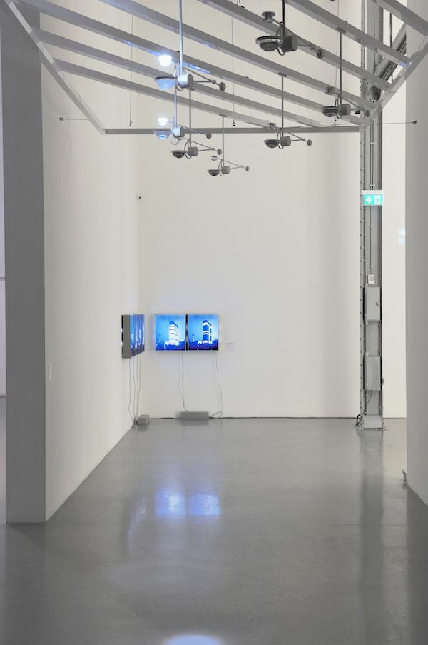 'Lightopia', Installation View, MAAT, 2016 | Troika (Conny Freyer, Eva Rucki, Sebastien Noel)