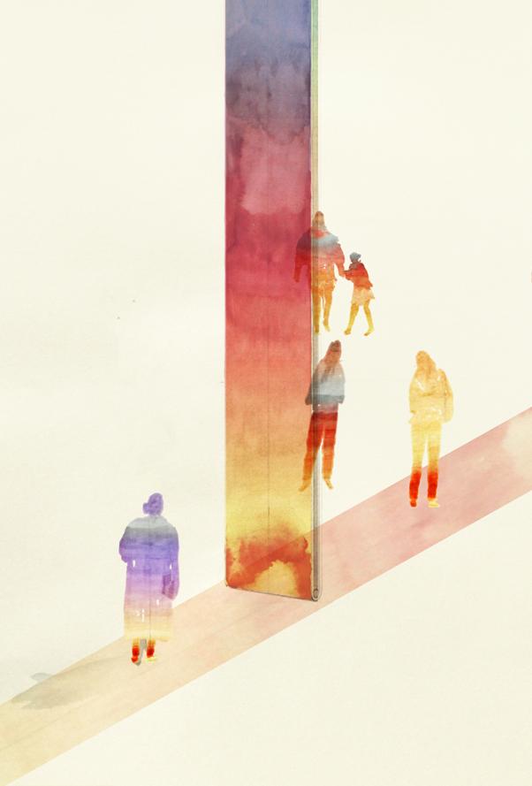 'Borrowed Light', 2018   Troika (Conny Freyer, Eva Rucki, Sebastien Noel)